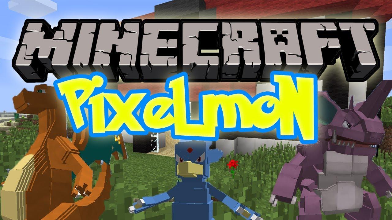 Minecraft Mody Pixelmon Mod 1 7 4 1 6 4 Pokemony W Minecraft
