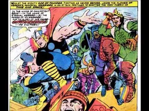 Thor Ragnarok Jack Kirby Art Tales Of Asgard Youtube