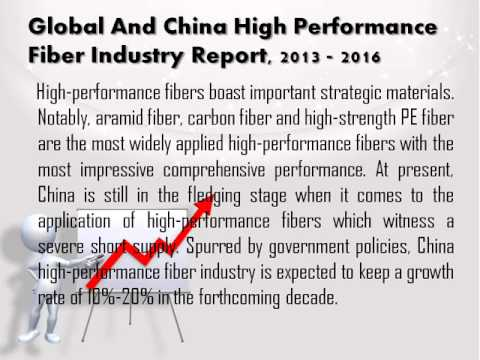 Global And China High Performance Fiber Industry Report, 2013 - 2016