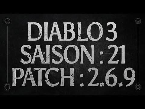 DIABLO 3 SAISON 20 PATCH PTR 2.6.9