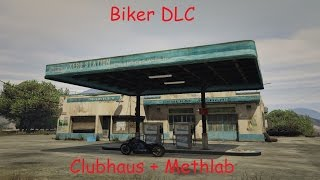 GTA Online | Biker DLC: Clubhaus Great Chaparral + Methlab