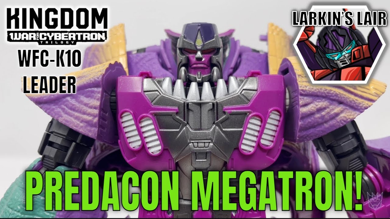 Transformers Kingdom Leader Megatron Review by Larkin's Lair