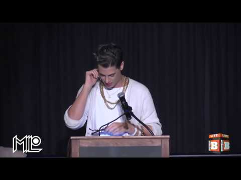 Milo Yiannopoulous Bullies Transgender Student on Stage in the Name of Free Speech