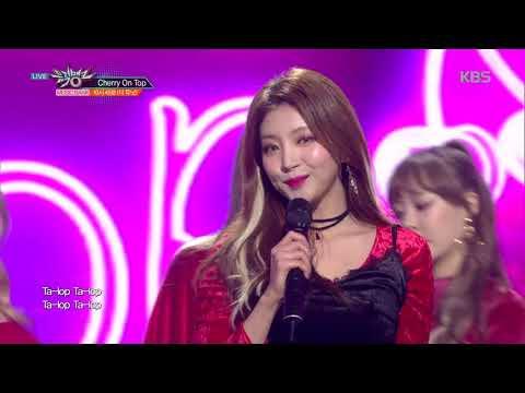 뮤직뱅크 Music Bank - Cherry On Top - 10시 45분(더 유닛) (Cherry On Top - 10:45(THE UNI+)).20180126