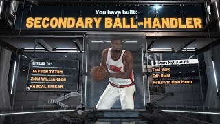 NBA 2K20 - Zion Williamson Build (SECONDARY BALL-HANDLER)