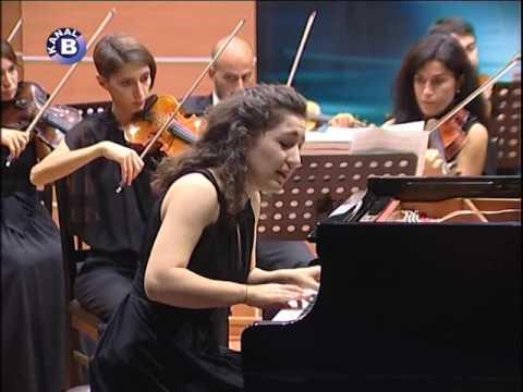 Orkestra Akademik Başkent 30 Ekim 2014 Konseri - Ertuğ Korkmaz - Lilit Grigoryan - Florian Heinisch