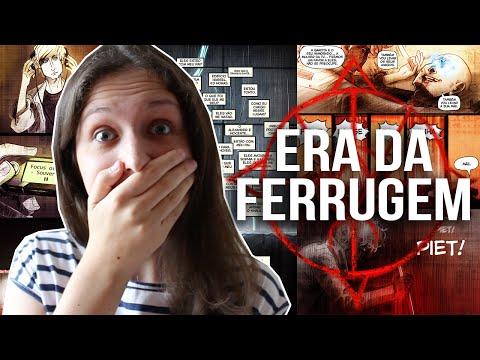 ERA DA FERRUGEM, UMA WEBCOMIC BRASILEIRA | eradaferrugem.com.br