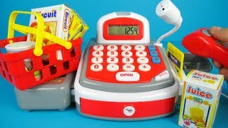 Toy Cash Register by Ecoiffier for kids   Unboxing and Playing