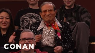 We Found A Willing Inauguration Performer In The Audience  - CONAN on TBS