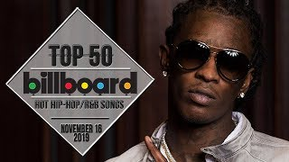 Top 50 • US Hip-Hop/R&B Songs • November 16, 2019 | Billboard-Charts