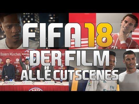 FIFA 18 - Der Film | Alle Cutscenes | THE JOURNEY 2 (deutsch / german)