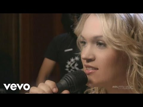 Carrie Underwood - Jesus, Take The Wheel (AOL Sessions)