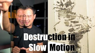 Tempered glass destruction in slow motion | be quiet!