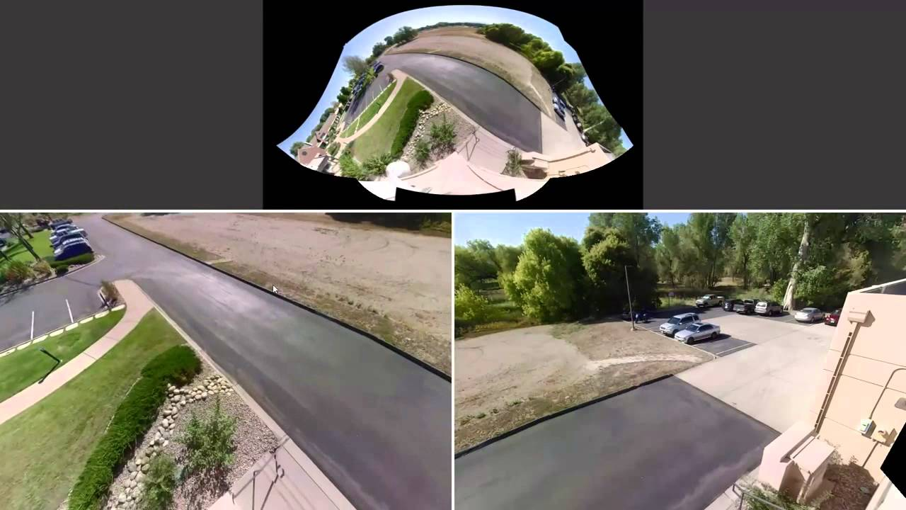 Pelco Optera Panoramic Camera 270 176 Video Roof Youtube