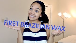 Repeat youtube video MY FIRST TIME || BRAZILIAN WAX EDITION