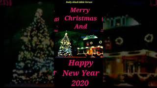 Daily Hindi Bible Verses Merry Christmas And Happy New Year 2020 whatsapp Status & 39 s
