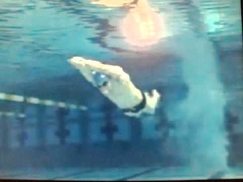 michael phelps swim technique slow motion underwater camera youtube