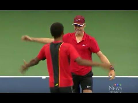 Denis Shapovalov on CTV News