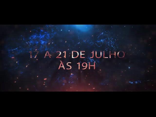 Tenda da Benção - Encontro com a Presença - 17 a 21 de Julho em Jacareí/SP