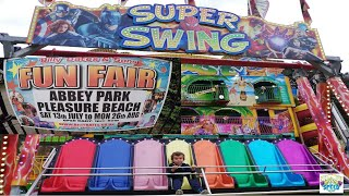 Billy Bates' Pleasure Beach funfair Opening Day 2019