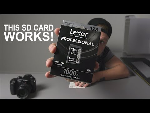 Panasonic GH5 400mbps SD Card Test - In 4k