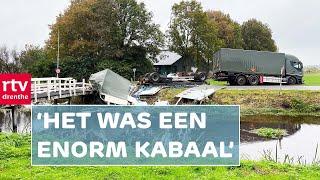 Ongeluk Met Gevaarlijkste Klasse Munitie Hij Schoot Zo Het Kanaal In RTV Drenthe