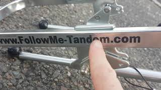 How to attach a FollowMe to your bike