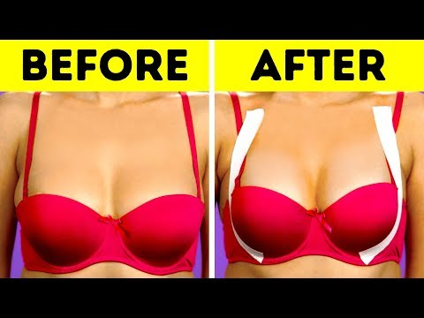 29 BEST BRA HACKS EVERY GIRL NEED TO KNOW thumbnail