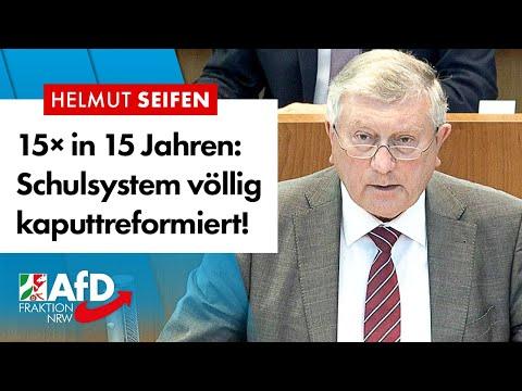 So wurde das Schulsystem kaputtreformiert! – Helmut Seifen (AfD)
