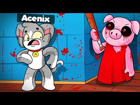¡IMPOSIBLE ESCAPAR DE PIGGY! 😱😭 ESCAPAMOS DE LA CASA DE PIGGY en ROBLOX con INVICTOR