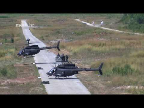 Uspješno provedena bojna gađanja iz helikoptera Kiowa Warrior