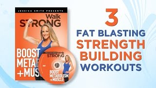 Boost Metabolism + Muscle with our metabolic conditioning strength training home circuit workouts!