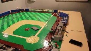LEGO BASEBALL STADIUM MOC UPDATE #10