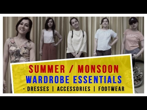 [VIDEO] - Summer/Monsoon Outfit Ideas | Wardrobe Essentials and Styling Tips | Navya Beri 2