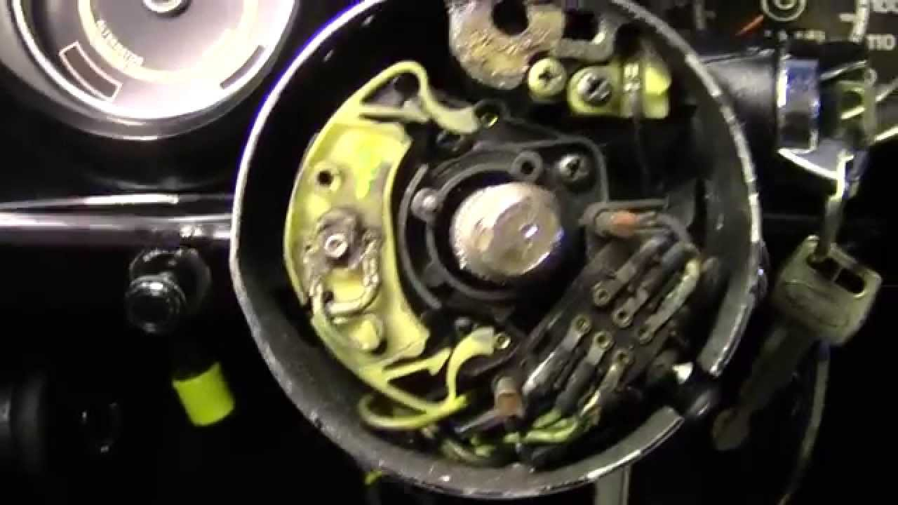 Turn Signal Switch Anatomy 71 73 Mustang Youtube