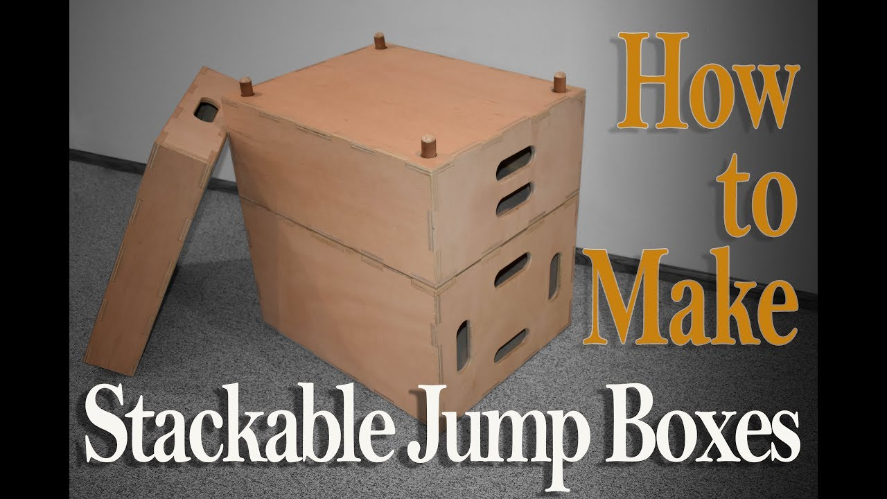 How To Make Crossfit Jump Boxes Youtube