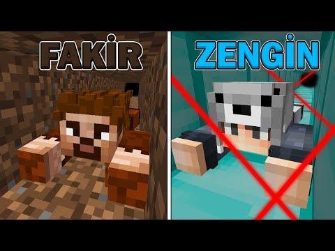 FAKİR HAPİSHANE VS ZENGİN HAPSİHANE (KAÇIŞ) 😱 - Minecraft thumbnail