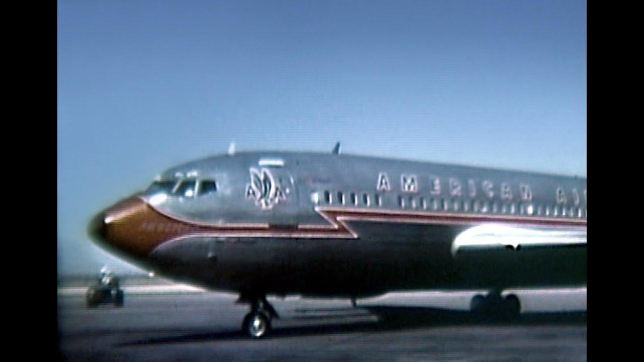 American boeing 707 123b arrival el paso 1963 youtube for Classic american el paso