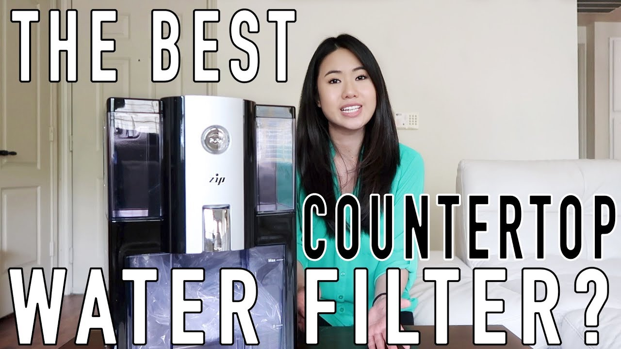 The Best Countertop Water Filter Zip Reverse Osmosis Alkaline Water Purifier Review Part 1 Youtube