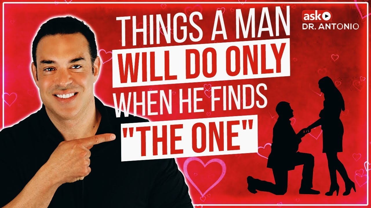 Is He The One Things A Man Will Do Only If He Really Loves You Signs Of True Love Youtube