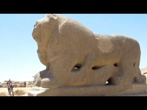Lion of Babylon Statue, Babylon, Babil, Iraq