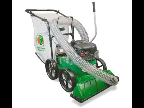 Billy Goat yard leaf vacuum easy cleanup of leaves demo SEE IN ACTION!