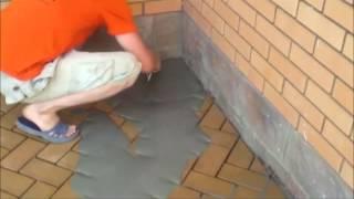 Монтаж клинкерной тротуарной плитки брусчатки Feldhaus Klinker www feldhaus ru +7 495 363 11 99