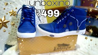 Unboxing essence|| causal shoes Men's ||blue