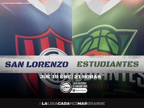 Liga Nacional: San Lorenzo vs. Estudiantes   #LaLigaEnTyC