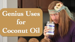Genius Uses for Coconut Oil (funny) - Ultra Spiritual Life episode 21 - with JP Sears