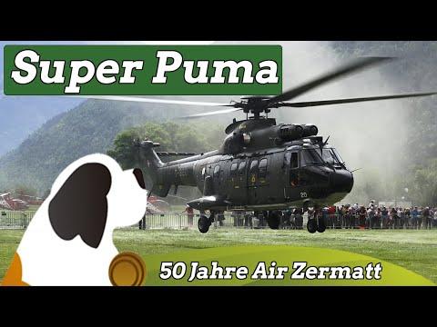50 Jahre Air Zermatt - Super Puma (T-320) Swiss Air Force
