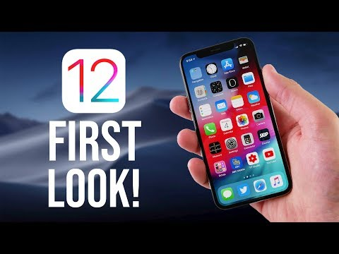 iOS 12 Beta 1 First Look!