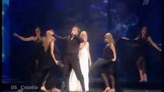eurovision 2009 croatia igor cukrov feat andrea lijepa tena