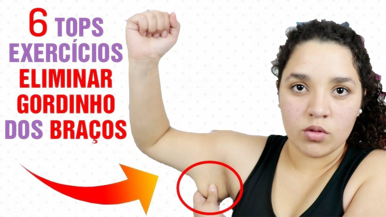 o que fazer para emagrecer os braços